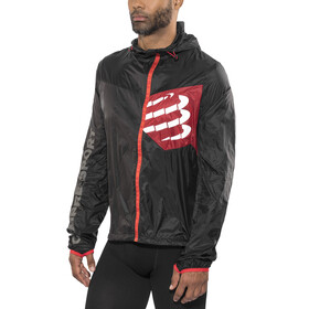 Compressport Trail Hurricane - Chaqueta Running - negro